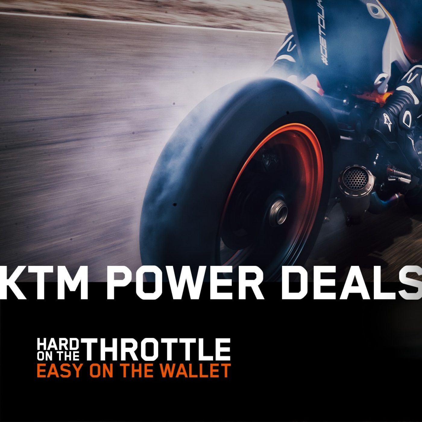 KTM POWER DEALS